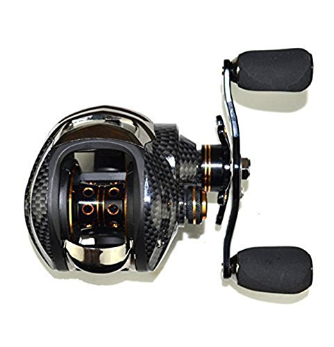 LITTLEPIG 17+1BB Double Bait Casting Fishing Reel Brake Fishing Lure Spinning Reel Gear Water Drop Fish Wheel Right (Top Shot Fishing Line compare prices)