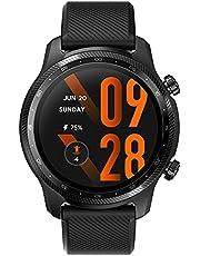 TicWatch Pro 3 Ultra GPS Smartwatch Qualcomm SDW4100 i Mobvoi Dual Processor System Wear OS Smart Watch dla mężczyzn Tlen we krwi IHB Wykrywanie AFiB Ocena zmęczenia 3-45 dni Bateria NFC Mic Głośnik