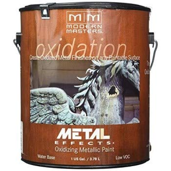(Modern Masters ME208 Reactive Metallic Iron Paint by Modern Masters)