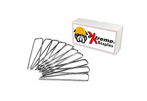 Extreme Dog Fence Pet Fence Staples for Electric Dog Fences and Sod or Garden - 100 Staples (Defence Fence)