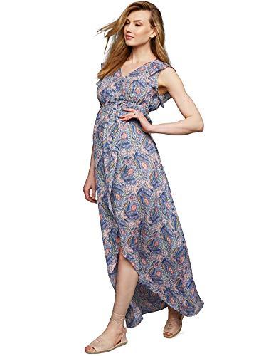 Ella Moss Wrap Maternity Maxi Dress - Ella Moss Maternity