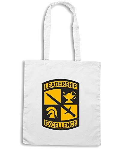 Speed Shirt Borsa Shopper Bianca TM0398 US ROTC USA