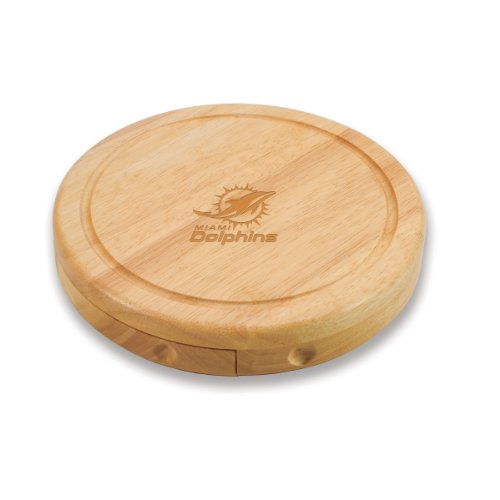 Miami Dolphins Brie Cheese Board