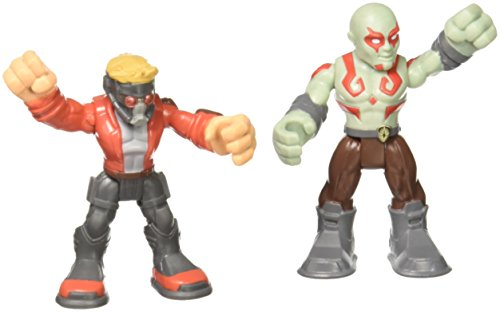 Marvel Super Hero Adventures, Star Lord and Drax Action -