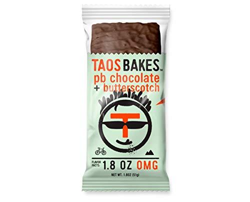 Taos Bakes - Peanut Butter Chocolate + Butterscotch (Box of 12, 1.8oz - Butterscotch Base