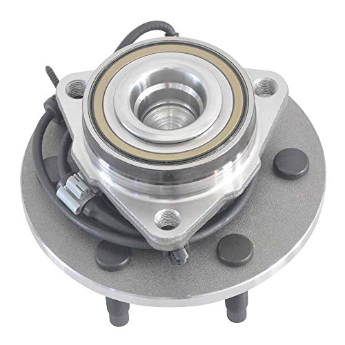 2WD Only 515054 New Front Wheel Hub & Bearing for Chevy GMC Cadillac 6 Lug RWD (1 Set)
