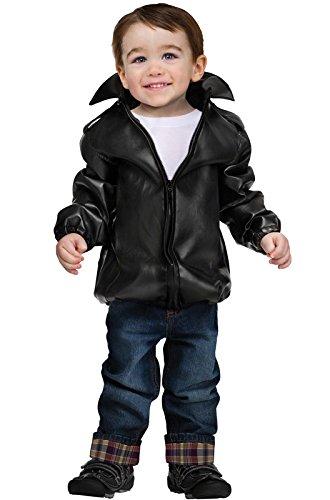 [Fun World Costumes Baby Boy's T-Bird Gang Toddler Jacket, Black, X-Large] (T-birds Costume Jacket)
