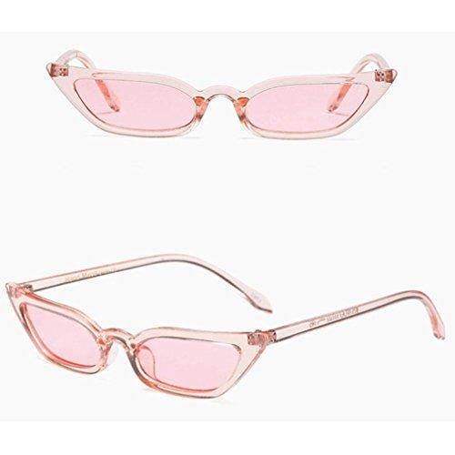 Price comparison product image Clearance! Kstare Women's Fashion Sunglasses Retro Small Frame UV400 Eyewear Polarized Vintage Sun Glasses (Pink)