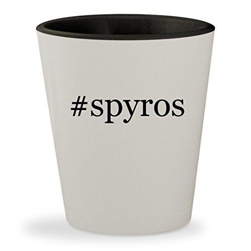 Price comparison product image #spyros - Hashtag White Outer & Black Inner Ceramic 1.5oz Shot Glass