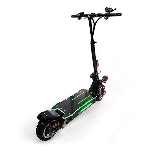 OUTSTORM 56MPH Ultra High Speed Electric Scooter for Adults Foldable, 3200W Peak Power Dual Motor  60V / 20-35Ah Battery   43-67 Miles Distance   ...
