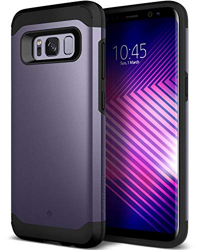 Caseology Legion for Galaxy S8 Plus Case (2017) - Reinforced Protection - Orchid Gray