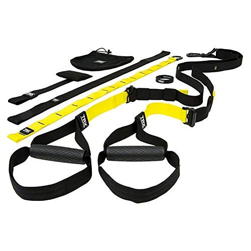 TRX PRO Suspension Trainer System: Highest Quality Design & Durability| Includes Three Anchor Solutions, 8 Video Workouts & 8-Week Workout Program