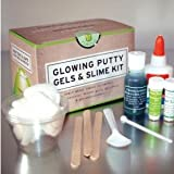Copernicus Glowing Putty Gels and Slime Kit, For Ages 10 and Up