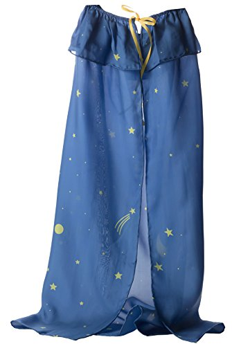 (Sarah's Silks Silk Capes Available in Rainbow, Starry Night and 3 Reversible Solid Color Capes (Starry)