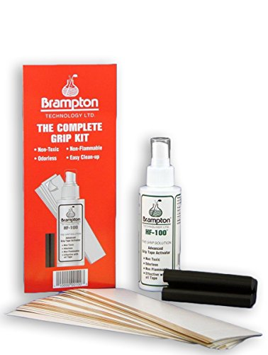 Brampton Golf Club Regripping Kit – Includes 14 Grip Tape Strips, Rubber Vice Clamp, and Solvent w/ Sprayer