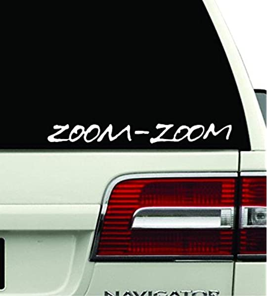 Zoom zoom stickers Mazda Mazdaspeed vinyl decal car sticker