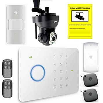 Kit de alarma GSM con camara IP: Amazon.es: Bricolaje y ...