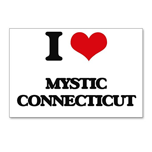 CafePress - I Love Mystic Connecticut - Postcards (Package of 8), 6