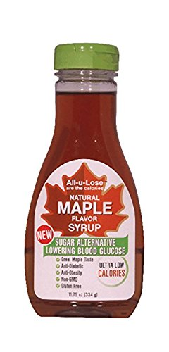 Allulose Natural Maple Flavor Syrup - 11.75 fl. (Calories In A Fortune Cookie)