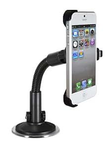 Ideus HOIDVEIP5 - Soporte de ventosa para Apple iPhone 5, negro