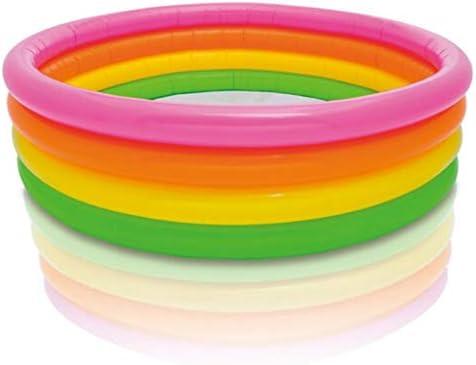 HUOQILIN インフレータブル入浴大人、折り畳み式携帯、環境に優しいプラスチック、蛍光リングのデザイン、168 * 46センチメートル