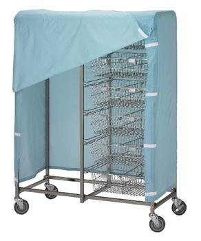 1051 R&B Wire Cover for 1012 and 1014 Resident Item Carts - Resident Item Cart