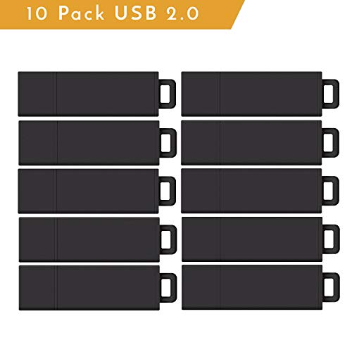Centon Value Pack USB 2.0 Datastick Pro2 (black), 2GB 10 Pack (S1B-U2T2-2G-10