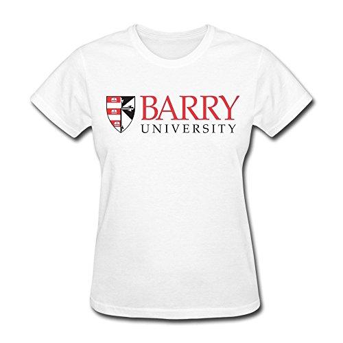 Women's Barry University Logo T-shirt L