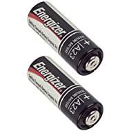 Energizer A23 12 Volt Photo/Garage Door Opener/Electronic Keychain Battery (2 Pack)