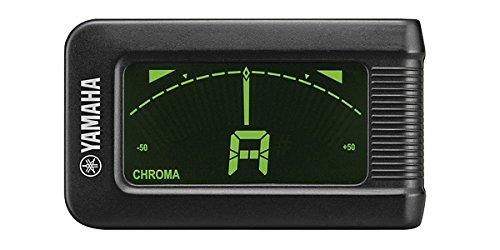 Yamaha YTC5 Afinador Digital de Clip, Auto-Afinación con Sensor de Vibración, negro