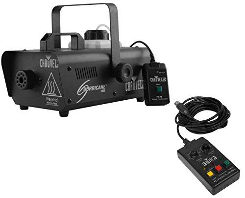 Chauvet H1000 Hurricane 1000 Fog Machine + FC-T Wired Timer Remote -