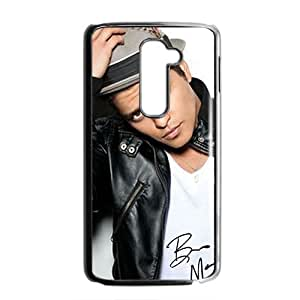 Bruno Mars Black Phone Case for LG G2