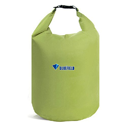 Waterproof Dry Bag Sack, GuanYuanGuang 20L/40L/70L Lightweight Dry Gear Bags for Boating, Kayaking, Fishing, Rafting, Caming, Beach (Bean Green-20L)