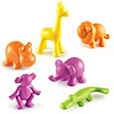 Learning Resources Wild About Animals Jungle Counters, Smart Pack, Set of 24