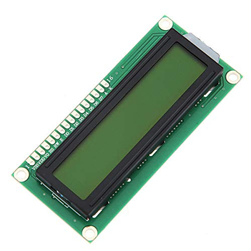 2Pcs Yellow Backlight 1602 Character LCD Display Module by Anddoa (Image #3)