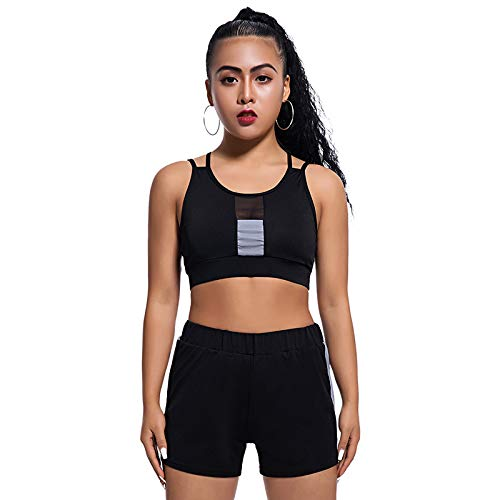Latest Collection Of Women Workout Tracksuits Clothes Tank Top And Pants Summer Elastic Vest Top Shorts Sets Running Clothes Sports Suit Apparel For Fast Shipping Home