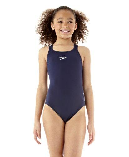 "Speedo Women's Endurance Plus Medalist Swimming Costume 30"" Navy"
