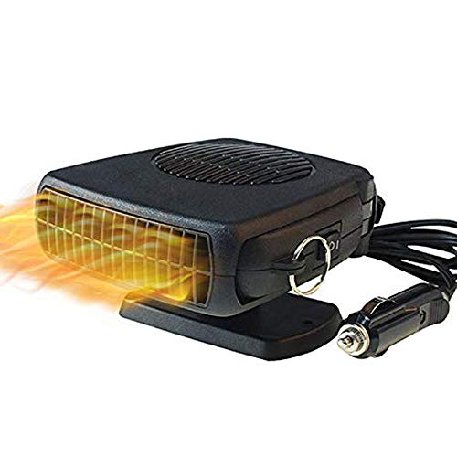 Portable Auto Car Heater, SENTOP 12V 150W Windshield Defogger Car Defroster 2 in 1 Powerful Car Heater Cooling Fan, Heating Quickly and Low Noise, 30S Heat Rapidly Plug in Cig Lighter from SENTOP