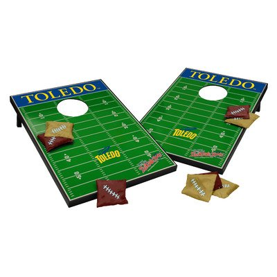 NCAA Cornhole Game Set NCAA Team: Toledo Rockets by Tailgate Toss