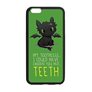 """FEEL.Q- How to Train Your Dragon Toothless Personalized Protective Case for iPhone 6 Plus (5.5"""") TPU Rubber Phone Cases by ruishername"""