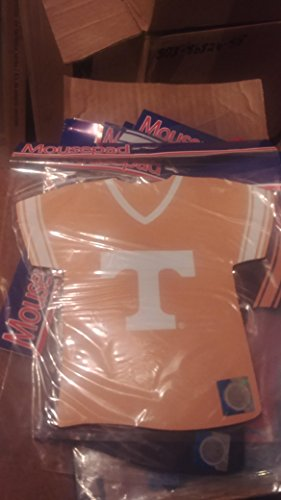 University Tennessee Jersey (NCAA University of Tennessee Vols Jersey Shaped Mouse Pad)