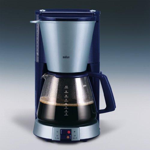 Braun KF 148 Cafetera Aroma lect Jewel Edition Plata de color azul ...
