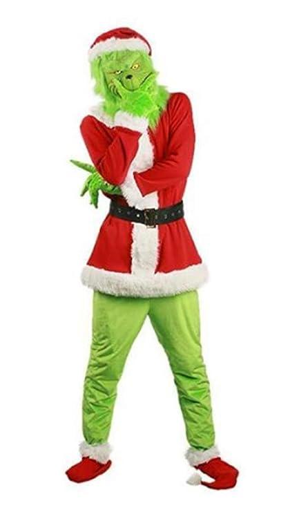MingoTor Hombre Disfraz Traje de Cosplay Ropa Christmas ...