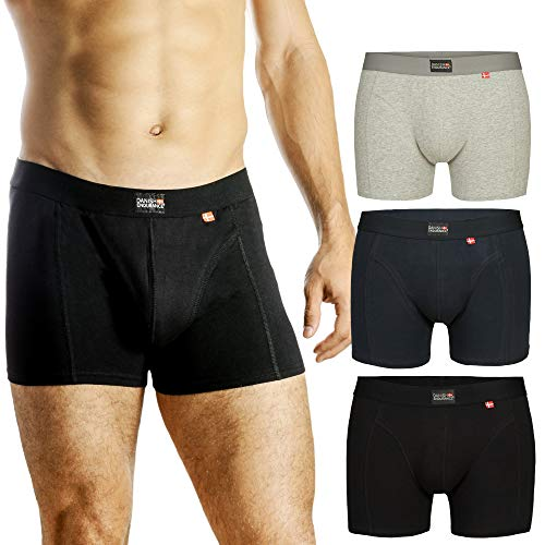 DANISH ENDURANCE Men's Trunks (Navy Blue - 3 Pack, Medium) ()