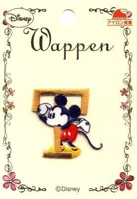 Emblem Embroidery - Mickey Mouse (T) Kocka PAO-MY-316