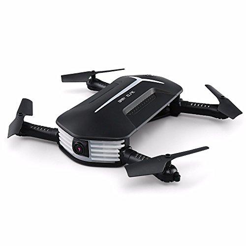 Drone JJRC H37 Mini, Portable, Cámara con Transmisión en Vivo 720P HD, Vuelo Asistido por WayPoints, Control de Altitud, Compatible con iOS y Android