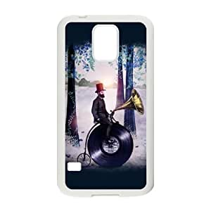 Samsung Galaxy S5 Cell Phone Case White Music man in the forest Rlkvl