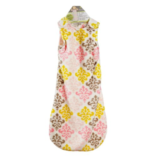 Baby's Damask Design Sleep Sack For 0-6 Months By Blankets And Beyond Pink