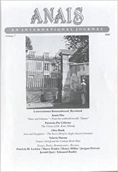 Anais An International Journal: Vol. 7, 1989