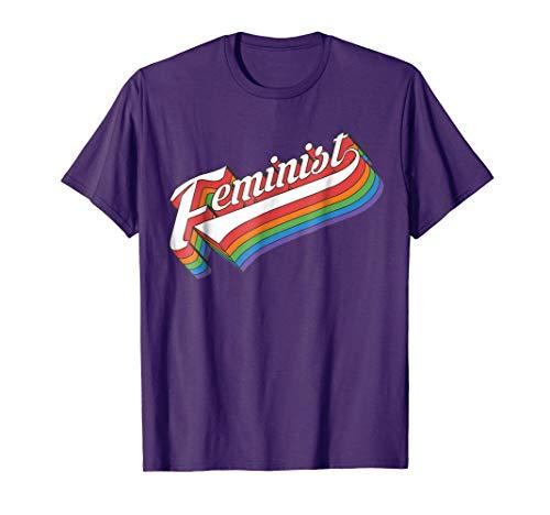 Retro Feminist 70s Style Vintage Feminism Girl Power T-Shirt